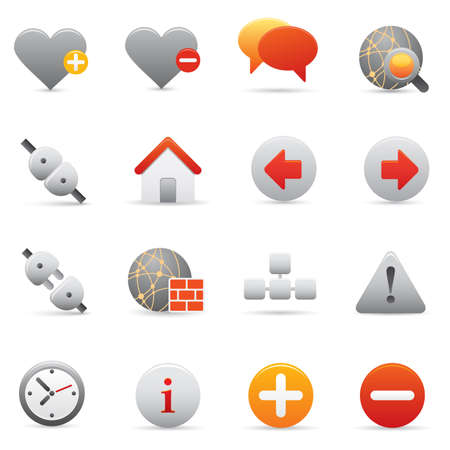 05 Internet Icons | Red professional icons for your website, application, or presentation