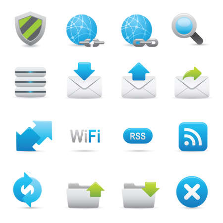 07 Internet Icons | Indigo professional icons for your website, application, or presentation