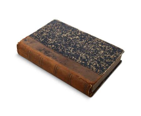 07 Antique Book Stock Photo