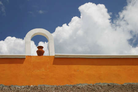 Mexican village Stock Photo