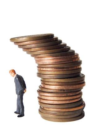 excise: Cifre d'affari con i soldi.