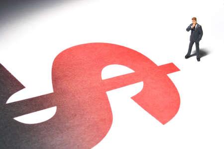 excise: Business cifre e simbolo del dollaro