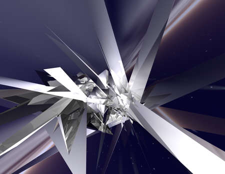 nebulous: 3d rendered abstract illustration