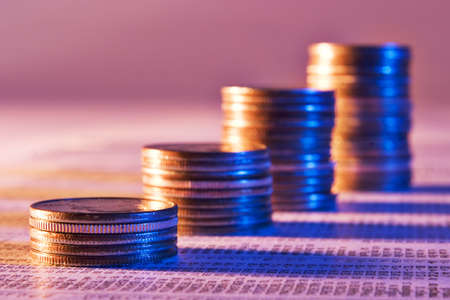 Coins and stock market