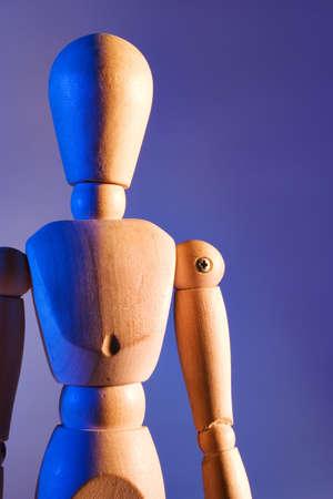 jumbled: artist mannequin