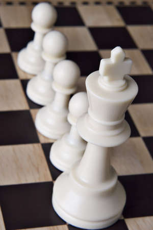 deliberate: Chessboard and Chess pieces