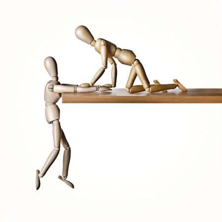 친애하는 삶을 위해서 매달린 해부학적인 모델 인 인체 모형 인 Manikin