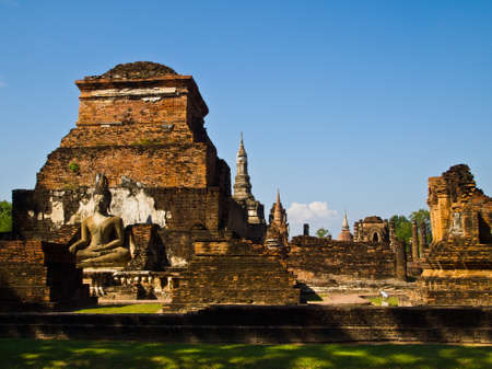 Ancient temple in National historic park in Thailand Stock Photo - 8460547