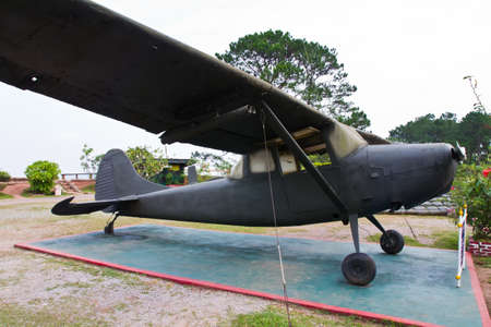 the outdated: Outdated military plane