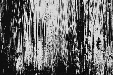 painted lines: Black and white scratched on canvas texture, grunge background