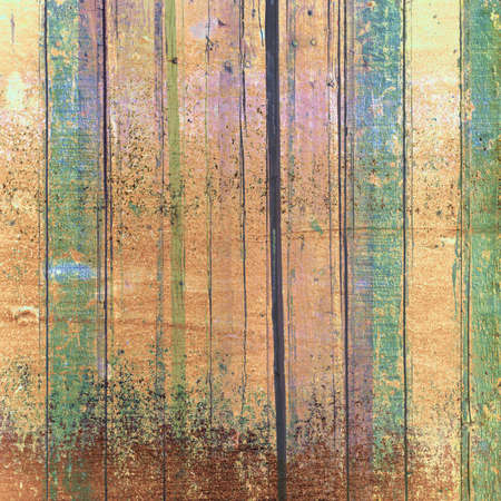 artictic: Artictic colorful wood wall, grunge and stained texture