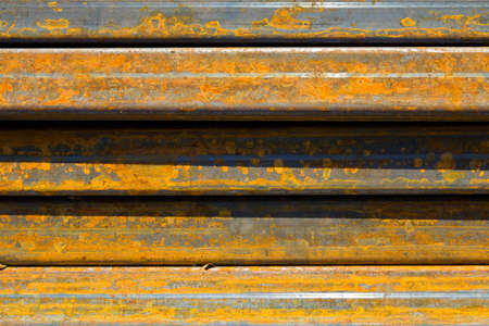 Rusty steel cube for background Stock Photo - 13450190