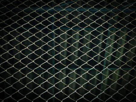 Steel mesh wire in the factory photo