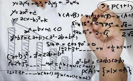 tutorial: Mathematics tutorial Stock Photo