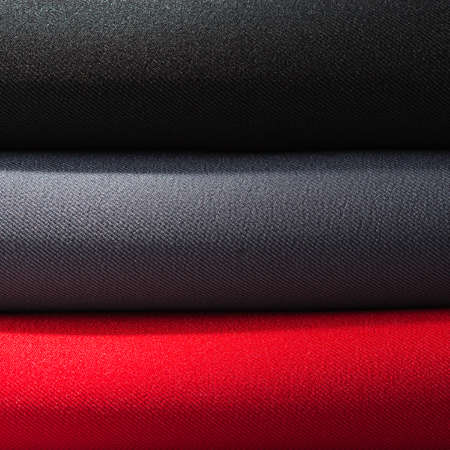 dull: Fabric stack in dull light background