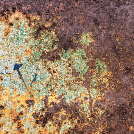 Metal erosion with full of rust, texture and background Stock Photo - 19284165