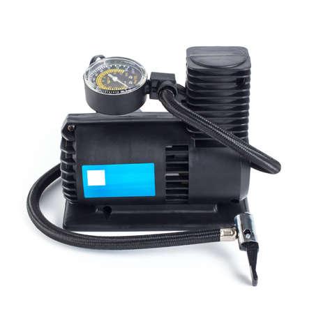 metering: Compact car tire air compressor