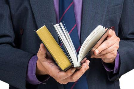 reference book: El hombre de negocios la b�squeda de informaci�n en el libro de referencia
