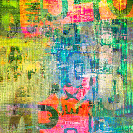 mixtures: Grunge painting on canvas texture