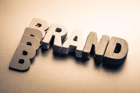 ブランドの単語としてスタック ウッドの手紙