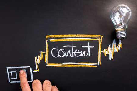 コンテンツと成功するビジネスに切り替える
