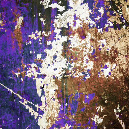 corrode: Abstract grunge background as erosion and rusty decay