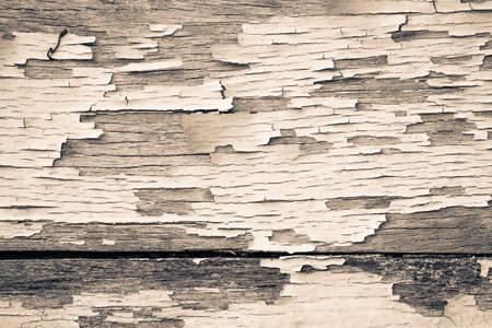 chipped paint: Old wood wall with chipped paint Stock Photo