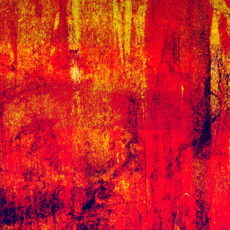 brush painting: Red painting on canvas texture