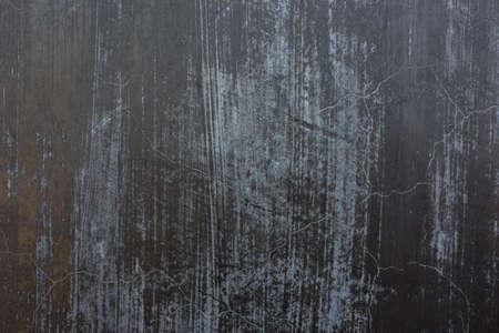 Old black slate stonewall texture