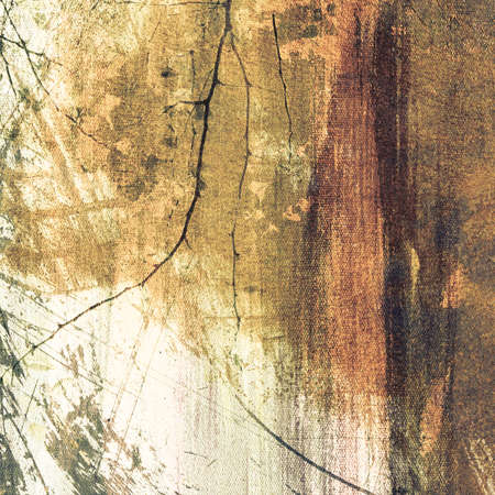 blemish: Faded brown background on canvas texture