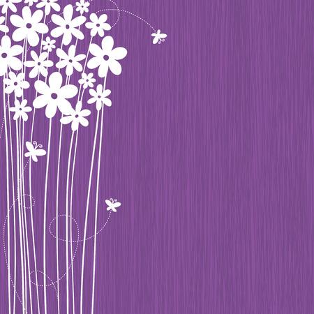 Fondo floral con espacio para el texto
