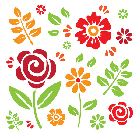 Floral Elements Stock Vector - 7092168