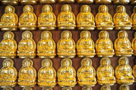 Pattern of gold chinese buddha Stock Photo - 16828965