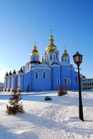 cupola: architecture kiev Stock Photo