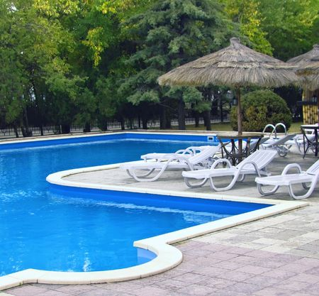 pool deck: swimming-pool