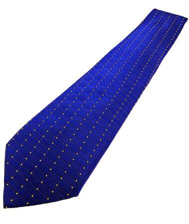 business fashion isolated new necktie on white background  photo