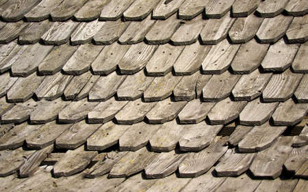 old wooden shingles photo
