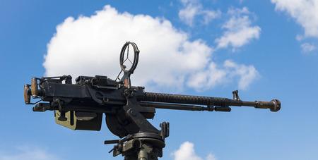 antiaircraft machine gun