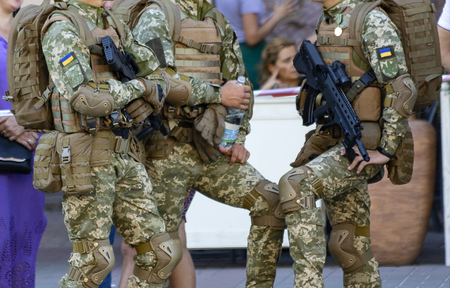 Soldiers with the new Small Arms Editorial