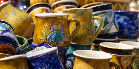 This cup with a picture of an owl.