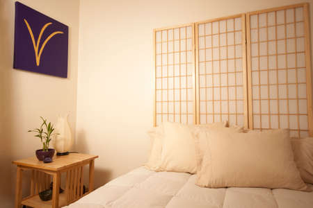 nightime: Feng Shui bedtable