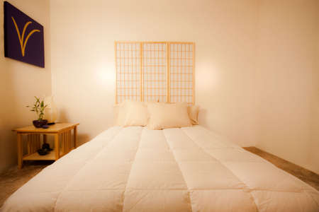 Feng Shui Bedroom Stock Photo