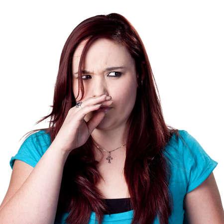 tufo: Un mal olor en la aiur  Foto de archivo