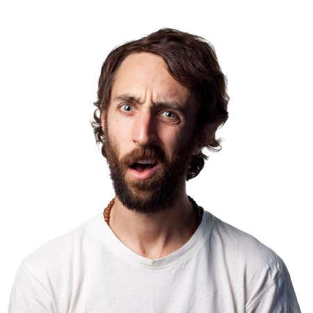Hombre de aspecto muy confundido
