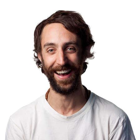 Confident portrait of a happy young man