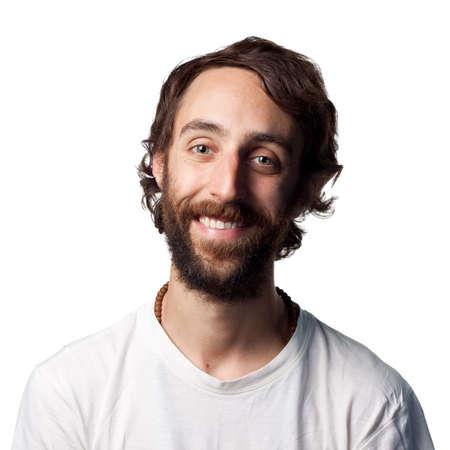 Smiling portrait of a happy man photo