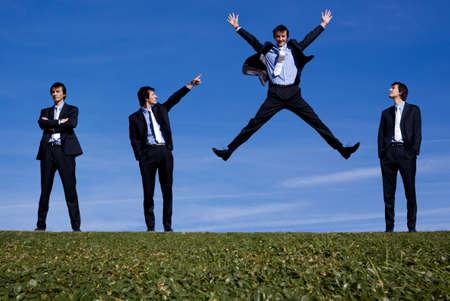 clones: Successful businessman