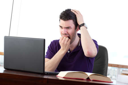 data loss: Student worried about data loss, visibly upset about a computer problem