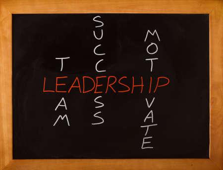 Team leadership, success and motivation concept Foto de archivo