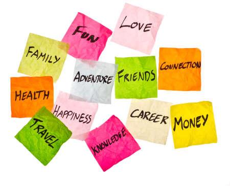 Un sacco di decisioni su cosa spendere i vostri soldi su Archivio Fotografico - 12040056